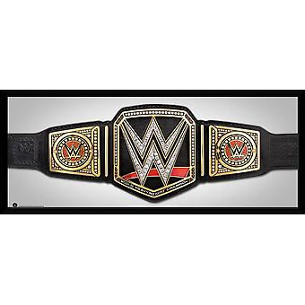 WWE titeln inramade Collector Print