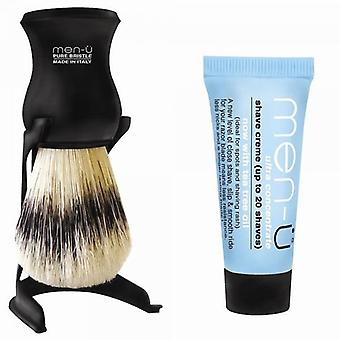 Men-u Men-U Pure Bristle Shave Brush