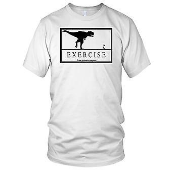 Motivation Exercise T-Rex - Motivation Bodybuilding Weight Training Fitness Mens T Shirt