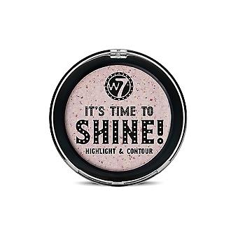 W7 It's Time To Shine! Highlight & Contour Compact Powder
