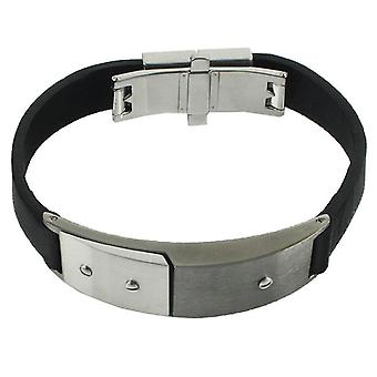 BREIL TRIBE bracelet leather/stainless steel TJ0538