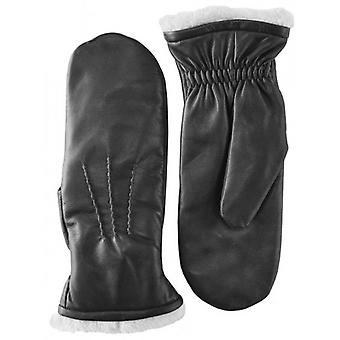 Pittards Leather Mittens - Black