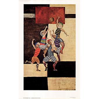 Basketball Poster Print by Graciela Rodo Boulanger (23 x 36)