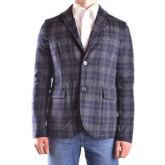 Peuterey men MCBI235135O blue/grey wool Blazer