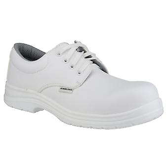 Amblers FS511 White Unisex Safety Shoes