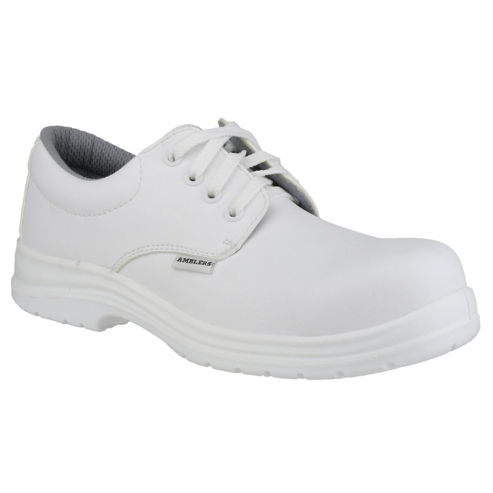 Amblers FS511 White Unisex Safety Safety Unisex Shoes a04201