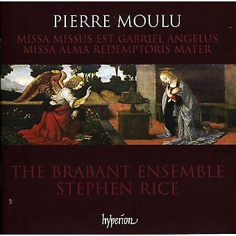 P. Moulu - Pierre Moulu: Missa Alma Redemptoris Mater; Importación de USA de Missa Missus Est Gabriel Angelus [CD]