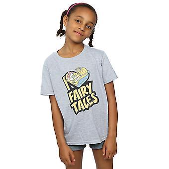 Disney Mädchen schöne und das Biest ich liebe Fairy Tales T-Shirt