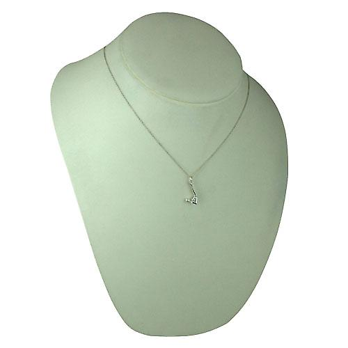 Silver 22x10mm Sarvangasana Yoga Position Pendant with a rolo Chain 18 inches