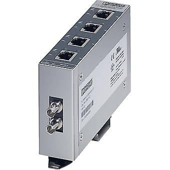 Unmanaged Phoenix Contact FL SWITCH SFN 4TX/FX ST No. of Ethernet ports 4