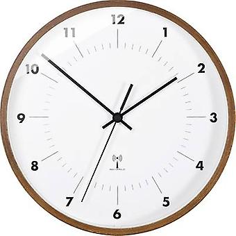 TFA 98.1097 Radio Wall clock 25.5 cm x 5 cm Wood