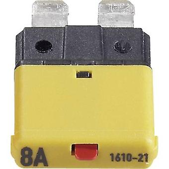 Car fuse device 1610 8 A Dark yellow 1610 CE1610-21-8A