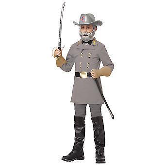 Konföderierten General Robert E. Lee Colonial Bürgerkrieg Commander Boys Costume