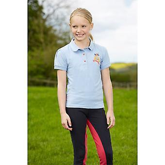 Toggi Zinnia Children'S Polo Shirt Hydrangea