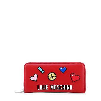 Love Moschino Women Wallets Red