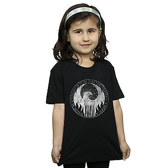 Fantastic Beasts Girls Distressed Magical Congress T-Shirt
