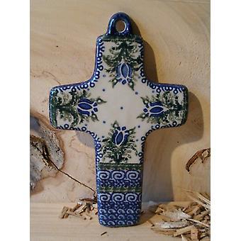 Cross, 21 x 12 cm, 7, polonaise poterie - BSN 5225