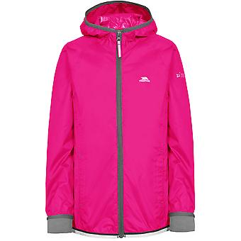 Intrusion filles Walkover imperméable coupe-vent scotchée coutures Hooded Jacket