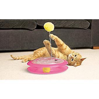 Ancol Acticat Plastic Playground Cat Toy