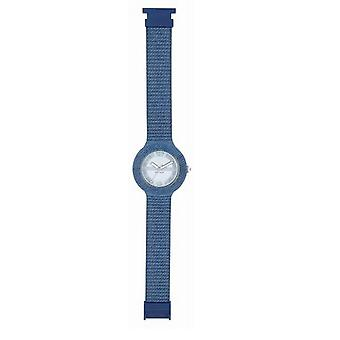 Hip hop watch wrist watch silicone watch 42 mm light blue Jeans HWU0297