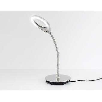 Lampe med forstørrelsesglas bordlampe med lup AGDA T LED dagslys 4, 5W 4