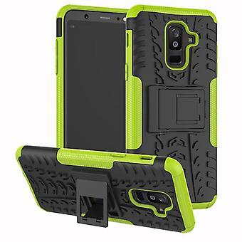 For Samsung Galaxy A6 A600 2018 hybrid case 2 piece SWL outdoor green bag case cover protection