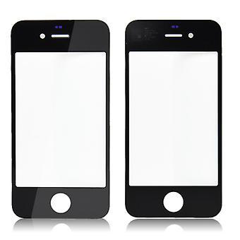 Erstatning For iPhone 4 - LCD glas - sort   iParts4u