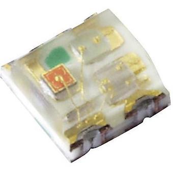 Kingbright KPTF-1616RGBC-13 SMD LED (multi-colour) Non-standard Red, Green, Blue 360 mcd, 750 mcd, 140 mcd 120 ° 20 mA