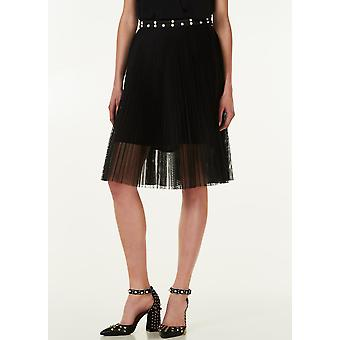 Skirt Black Unconventional Business Woman Liu Jo Woman