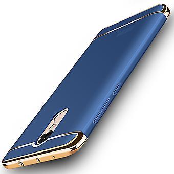 الهاتف الخليوي تغطية قضية ريدمي Xiaomi تصنيفها 3 الوفير في 1 X 4 غطاء كروم الأزرق