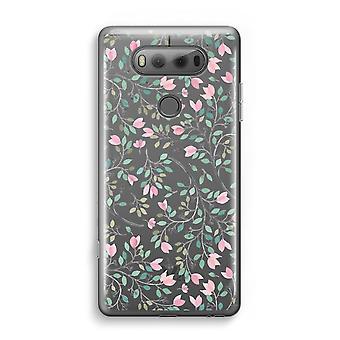 LG V20 Transparent fodral (Soft) - nätta blommor