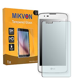 LG X max Screen Protector - Mikvon flexible Tempered Glass 9H (Retail Package with accessories)