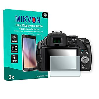 Panasonic Lumix DMC-G5 Screen Protector - Mikvon Clear (Retail Package with accessories)