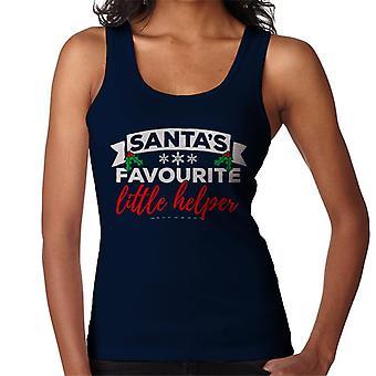 Vest Santas favorite Little Helper Noël femmes