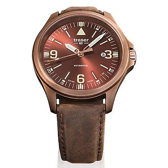 Traser H3 watch P67 officer pro automatic bronze Brown 108073