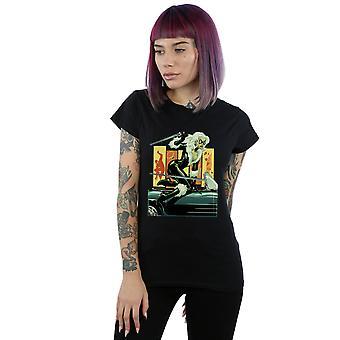 Marvel Women's Black Cat Car T-Shirt