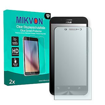 Asus ZenFone Max (ZC550KL) Screen Protector - Mikvon Clear (Retail Package with accessories)