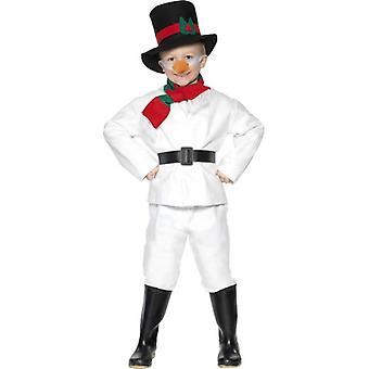 Snowman Costume, BOYS Small Age 3-5