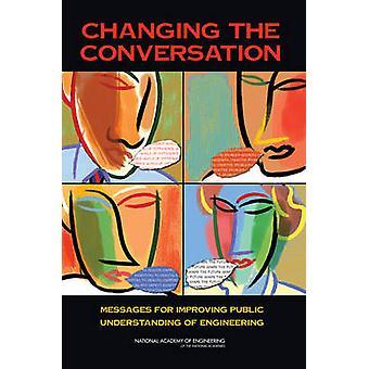 Ændre samtale - beskeder til forbedring af offentlige Understandin