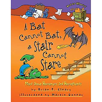 A Bat Cannot Bat, a Stair Cannot Stare: More about Homonyms and Homophones (Words Are Categorical)