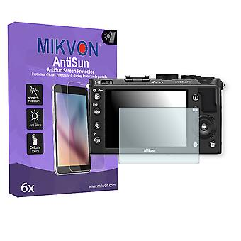 Nikon COOLPIX A Screen Protector - Mikvon AntiSun (Retail Package with accessories)