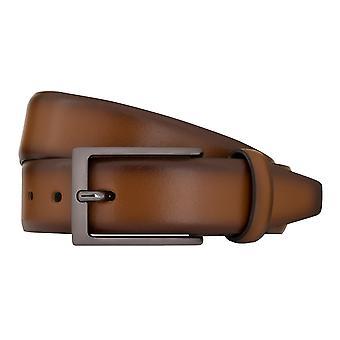LLOYD Men's Belts Gürtel Herrengürtel Ledergürtel Cognac 7809