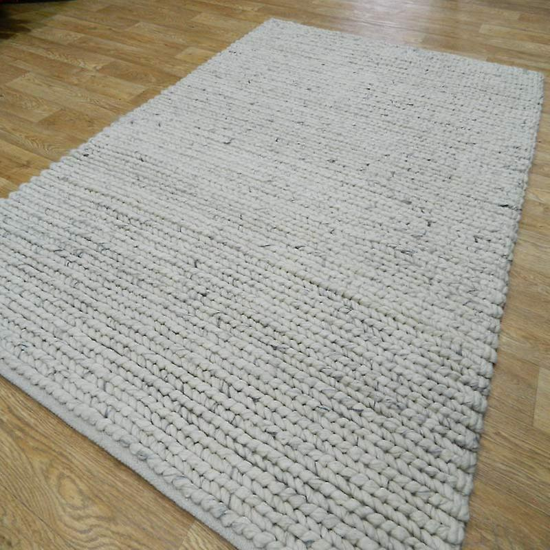 Rugs - Linie Comfort - Off White & Silver