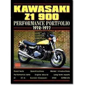 Kawasaki Z1 900 - 1972-77 by R. M. Clarke - 9781855204133 Book