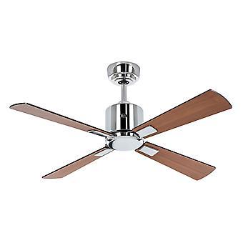 Ceiling Fan ECO NEO III 103 CH Black / Teak