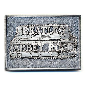 De Beatles Belt Buckle Abbey Road Sign band logo nieuwe officiële Metal