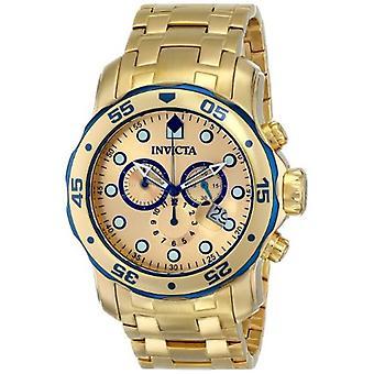 Invicta Pro Diver 80069 Edelstahl Chronograph Uhr