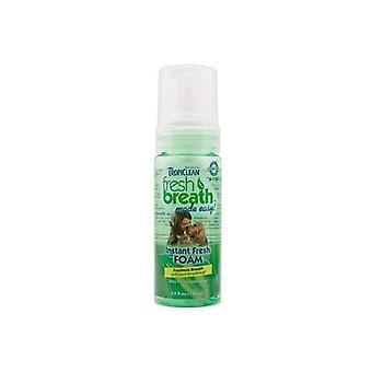 Tropiclean fresco respiro facile menta espanso ottenuto per cani 133ml