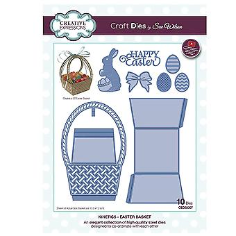 Creative Expressions - Sue Wilson Kinetics Collection Easter Basket Die