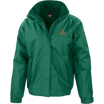 Staffordshire Regiment - Licensed British Army Embroidered Waterproof Jacket With Fleece Inner